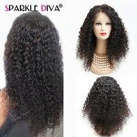 Кудрявые человеческие волосы парик бразильские человеческие волосы парики для черных женщин 10 24 дюймов 150% плотность Remy Glueless Кружева передн