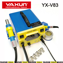 Rework-Station Soldering-Iron YAXUN Lcd-Temperature-Display5v Hot-Air NEW SMD And 2 YX-V83