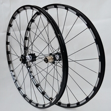 Free shipping 2016  MTB Mountain Bike 26er 27.5er carbon Six Holes Disc Brake Wheel CR 24H 11 Speed Support Alloy Rim Wheelset