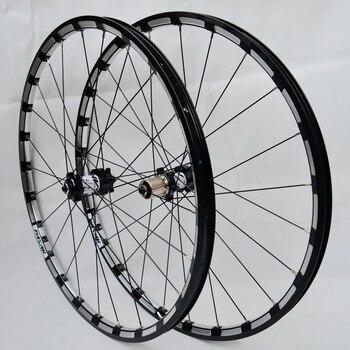MTB горный велосипед 26er 27,5 er, карбоновое колесо с шестью отверстиями, дисковый тормоз, 24 H, 11 скоростей, поддержка обода из сплава, колеса, беспл...