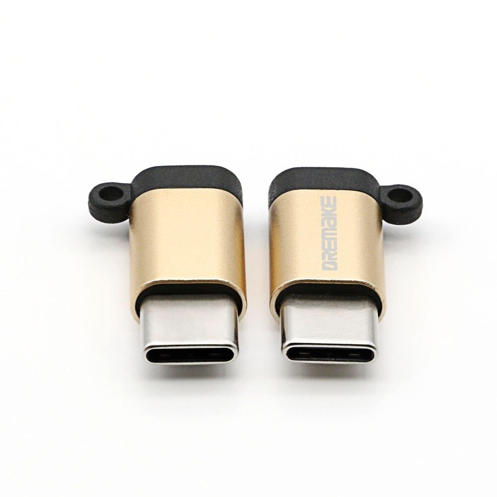 DREMAKE USB 2.0 Adapter 4-Pack Type-C to Micro USB Adapter Converter for Xiaomi 4C 5 Galaxy 7 Huawei P9 P10 Makbook Nokia N1