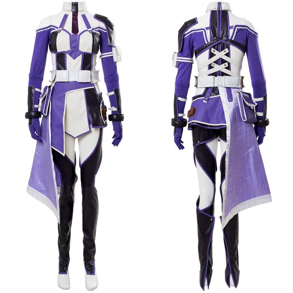 Costume Sword Art Online: Fatal Bullet Zeliskam Cosplay Costume Halloween Carnival Cosplay SAO Costume Girls Women Custom Made