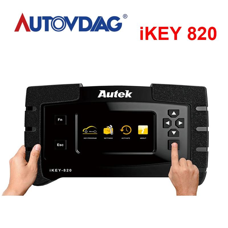 Original Autek IKey820 Universal Key Programmer Professional Tool Car Auto Scanner Key Programmer Read Immobilizer Pin Codes