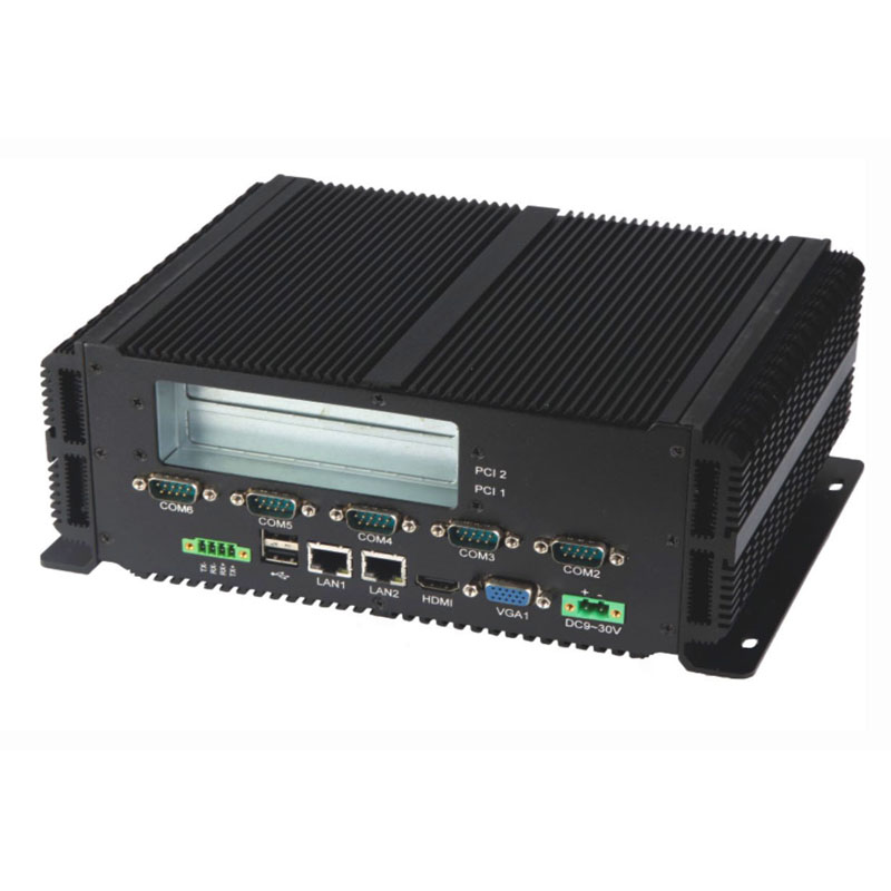 Fanless Mini PC LBOX-GM45 With Intel Pentium P8600 Processor Running Windows Linux System Mini Industrial PC Dual Core 2.4GHz