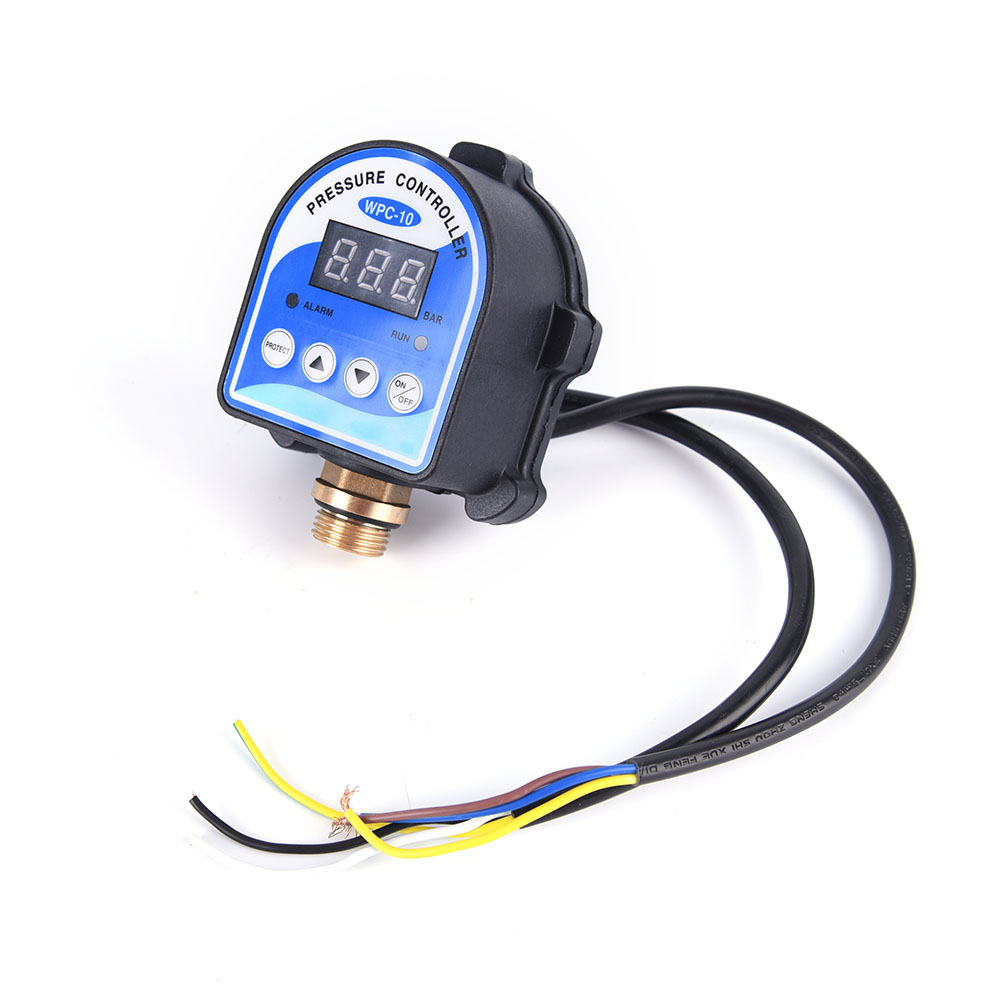 ZLinKJ Practical New Digital Water Pressure Switch Digital Display Eletronic Pressure Controller for Water Pump top Quality