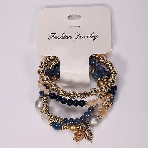 Gold Beads Women Bracelet...