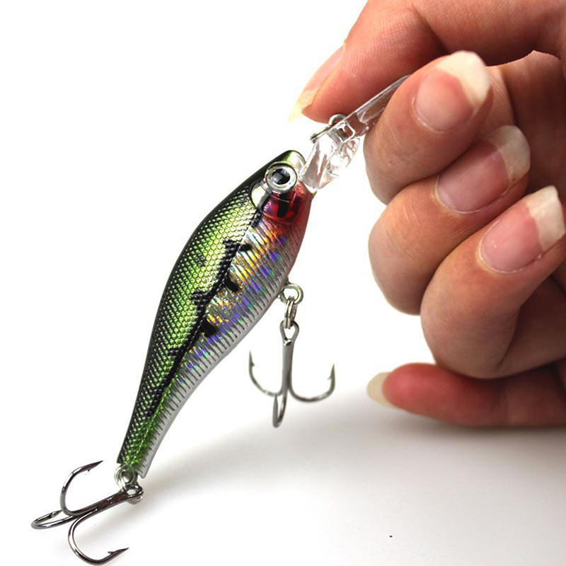 Retail 8.5cm 6.8g Fishing Lures, Assorted Colors Minnow Crank Magnet System 2017 Hot Model Crank Bait MI002