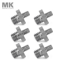 "6pcs 1/four"" Male Threaded to three/eight"" Tripod Screw Convert Adapter 6in1 package digital camera accent"