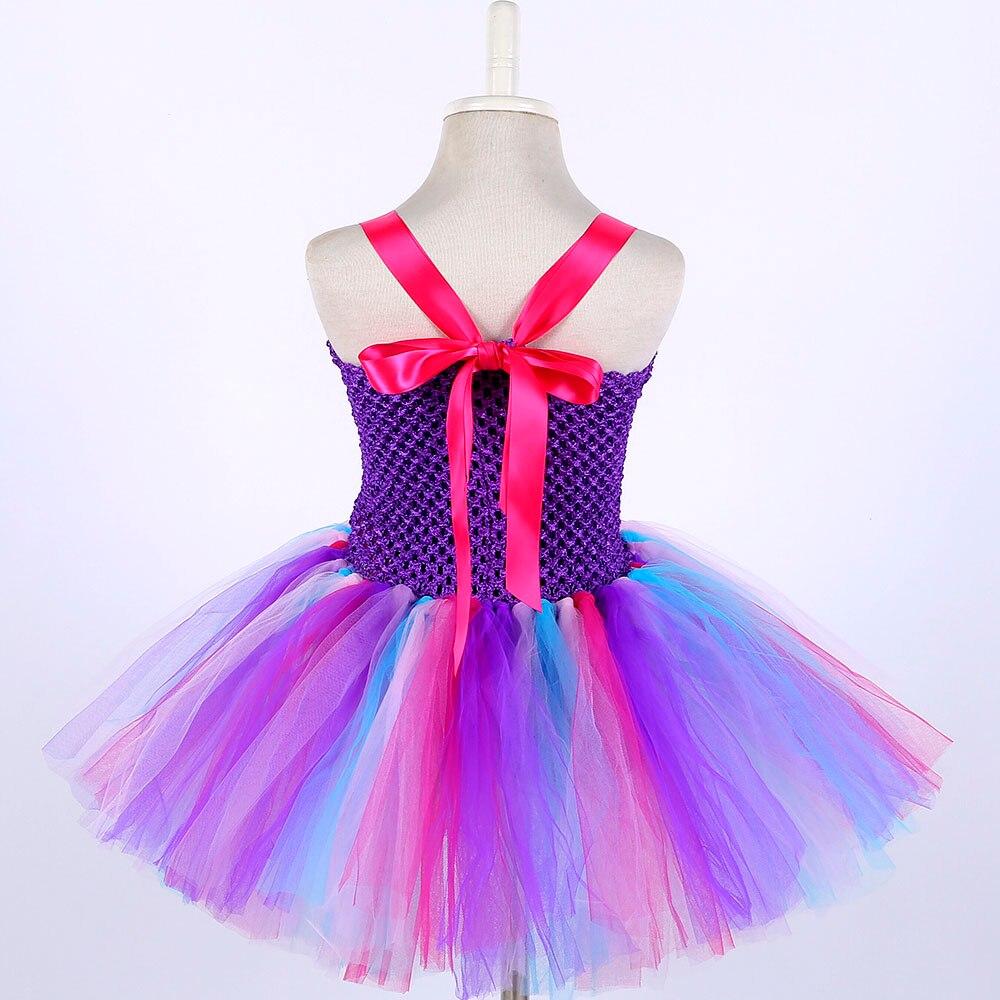 Candy Little Kids Pony Girls Clothing Teenage Unicorn Birthday Dress Knee Length Sleeveless Toddler Christmas Dress Tutu Robe 14 (4)