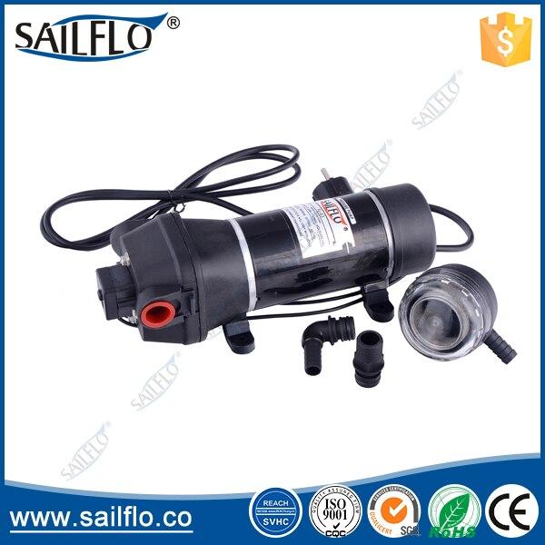 Sailflo FL-41 115vac 17LPM 40psi pompe à eau à diaphragme à haut débit pour Marine/RV/chauffe-eau
