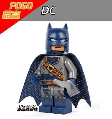 1PCS Batman DC/marvel super heroes building blocks figures city weapons original toys accessories lepin figures POGO 057