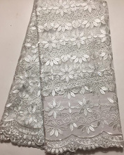Embroidered Nigerian Lace Fabric