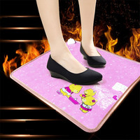 TF03 2 Warm Foot Office Warm Foot Pad Heater Warm Feet Treasure Plug In Electric Heating