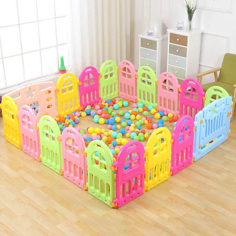 Fencing for Children Baby Playpen Fence Playpen Indoor Baby Fence Play Yard Child Safety Fence Baby Game Playpen Safety Barriers