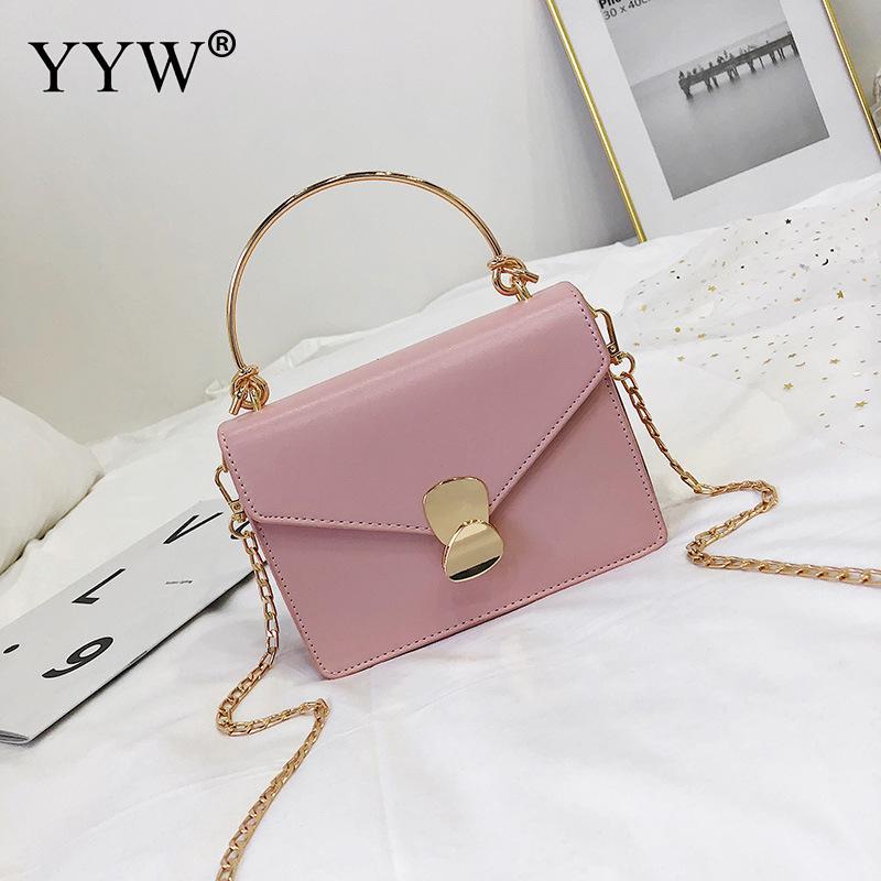 New Fashion Women Messenger Bags Cute White Pink Totes Handbag Shoulder Small Square Bag Trend Mini Women Handbags Bag Khaki