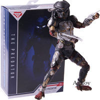 2018 The Predator Fugitive Predator Ultimate Action Figure NECA PVC Collectible Model Toy