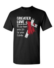 Greater Love T-Shirt Jesus Christ Cross Bible Religion God Lord Mens Tee Shirt  Free shipping Tops t-shirt Fashion daniela schultz wandel des outbound zum inbound marketing