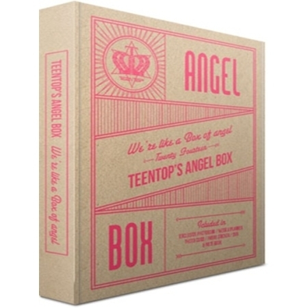 купить Teen Top- 2014 Teentop Angel Box (+ PHOTOBOOK(100P) + NOTE BOOK + sticker + Photo Card 7pcs + Weekly Planner(50P) ) kpop недорого