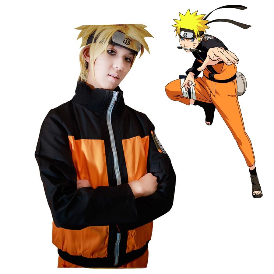 MMGG New Uzumaki Naruto Cosplay Costumes Various Casual Clothes custom made size