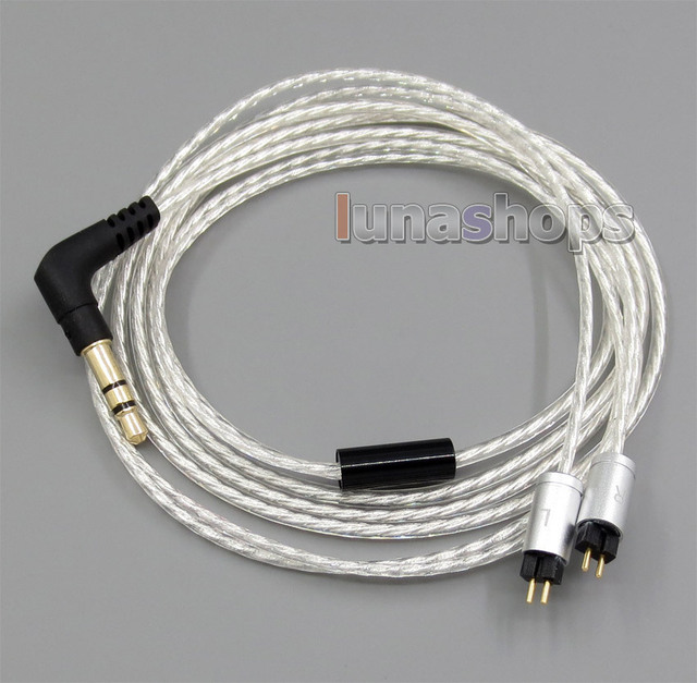 Lightweight Silver Plated 4N OCC Cable For Westone ES3X ES5 UM2 UM3XRC UM3x W4R