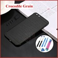 "NEW Arrival Luxury Crocodile Skin design back housing battery door back cover housing for iphone 6 6s 6plus 5.5""  free tools"