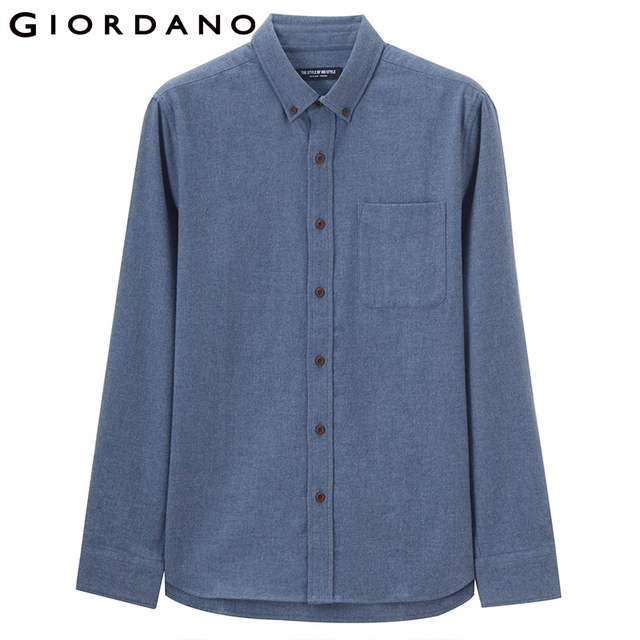 100% Cotton Long Sleeve Casual Men's Shirt 2