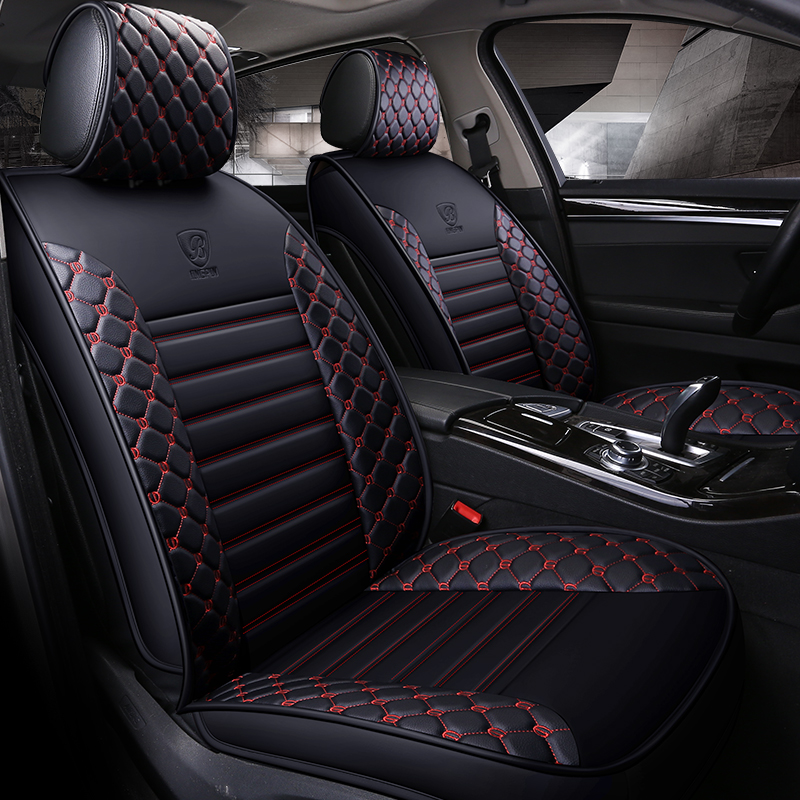Black Rear Back Car Seat Cover Protector For Toyota Auris Sports Estate 2013 On