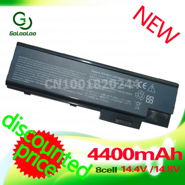 Golooloo 4400 mah bateria para acer aspire 3503 3505 3508 3509 3510 5000 5001 5002 5003 5004 5005 5510 5512 5513 5514 NOVO + presente