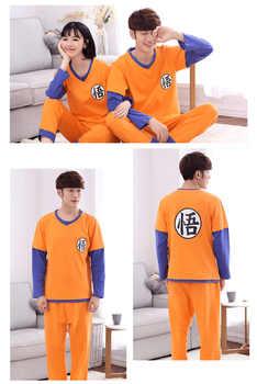 2019 Dragon Ball Family Pajamas Set Christmas Outfit Pijama Sleepwear Mom and Me Clothes Mum Daughter Sun Wukong Family Clothing