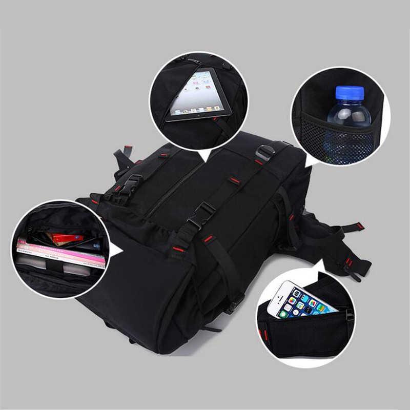 Кака Оксфорд Для мужчин ноутбук Рюкзаки 50l большой Ёмкость Дорожные сумки Водонепроницаемый Высокое качество альпинизм Для женщин Рюкзаки K001