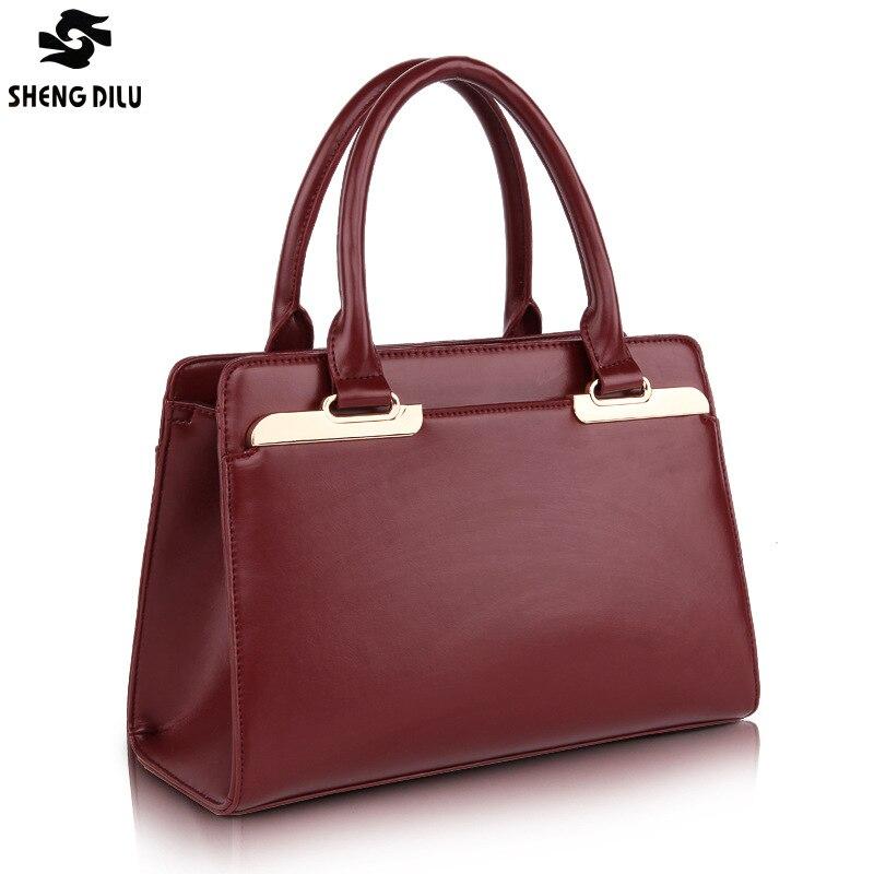 Fashion 2018 Woman Shoulder Bags Famous Brand Luxury Handbags Women Bags Designer High Quality Real Totes Women Mujer Bolsas цена и фото