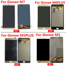 For Gionee M7 M6PLUS GN8002S GN8002 M5plus GN8001L M5 M5L M6 PLUS LCD Display+Touch Screen Assembly Replacement Accessories