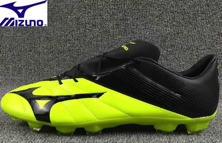 Mizuno NEO II FG Soccer shoes Sneakers top microfiber leather broken nail yellow Running Shoes Weightlifting Shoes Size 39-45Mizuno NEO II FG Soccer shoes Sneakers top microfiber leather broken nail yellow Running Shoes Weightlifting Shoes Size 39-45
