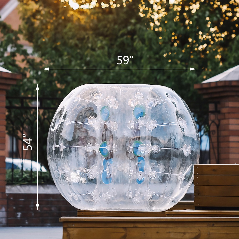 Happybuy Inflatable Bumper Ball 1.5M 5ft Diameter Bubble Soccer Ball Blow Up Toy In 5 Min Inflatable Bumper Bubble Balls