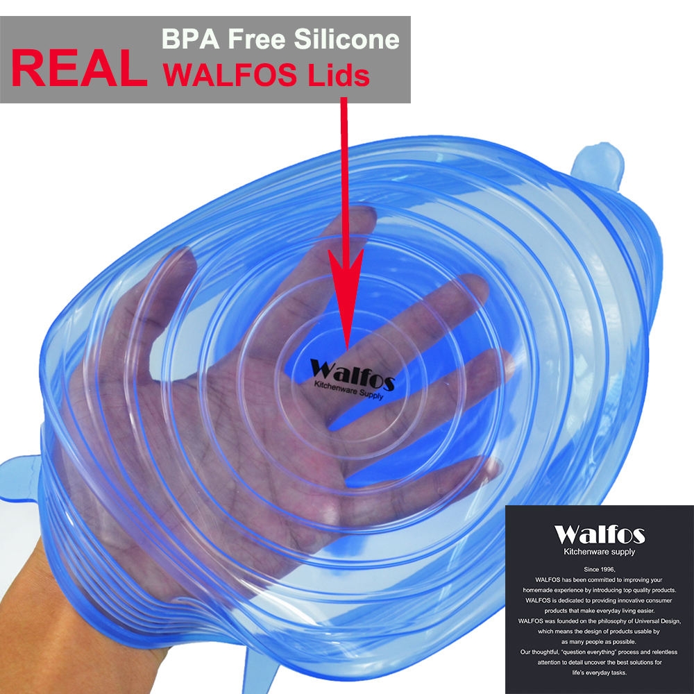 WALFOS σετ 6 τεμαχίων - Κουζίνα, τραπεζαρία και μπαρ - Φωτογραφία 5
