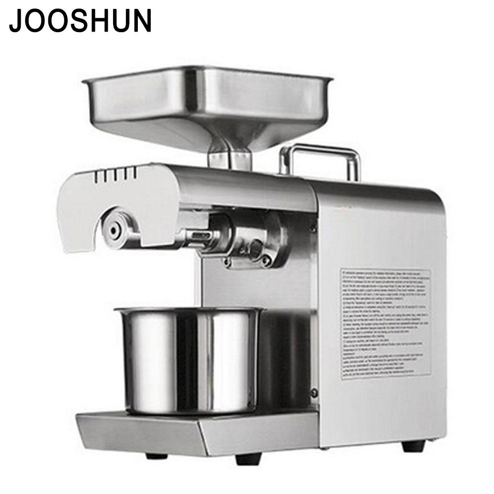 Mini Oil Press Assistant Coconut Oil Press Machine Nut Seeds, Peanut, Sesame, Rapeseed, Walnut Oil Hot Cold Press Extractor 流水 盆 養魚
