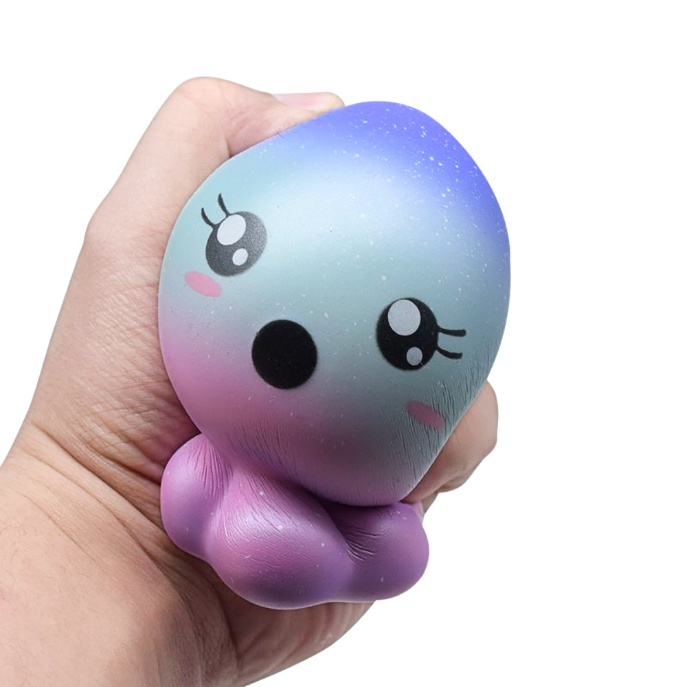 Dreamland squishies Starry Jellyfish Scented Squishy Slow Rising Squeeze Collection Cure Toy funny games