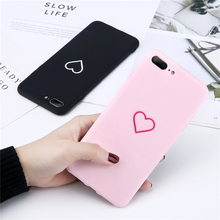 Love Heart Painted Graphic Phone Case For iphone  6 6S Plus Couples Back Cover Ultra Thin Matte Hard PC Coque 70