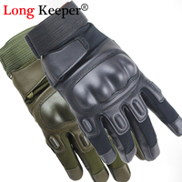 Long Keeper Army Tactical Gloves Military Men Outdoor Gloves Climbing Gloves Men S Full Gloves For