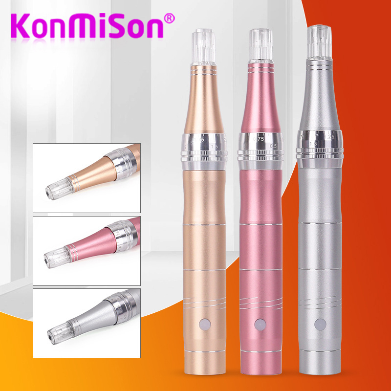 Electric Derma Pen Wireless Skin Care Machine Device Tattoo Microblading Derma Tattoo Needles Gun DR Pen Mesotherapy Face Makeup