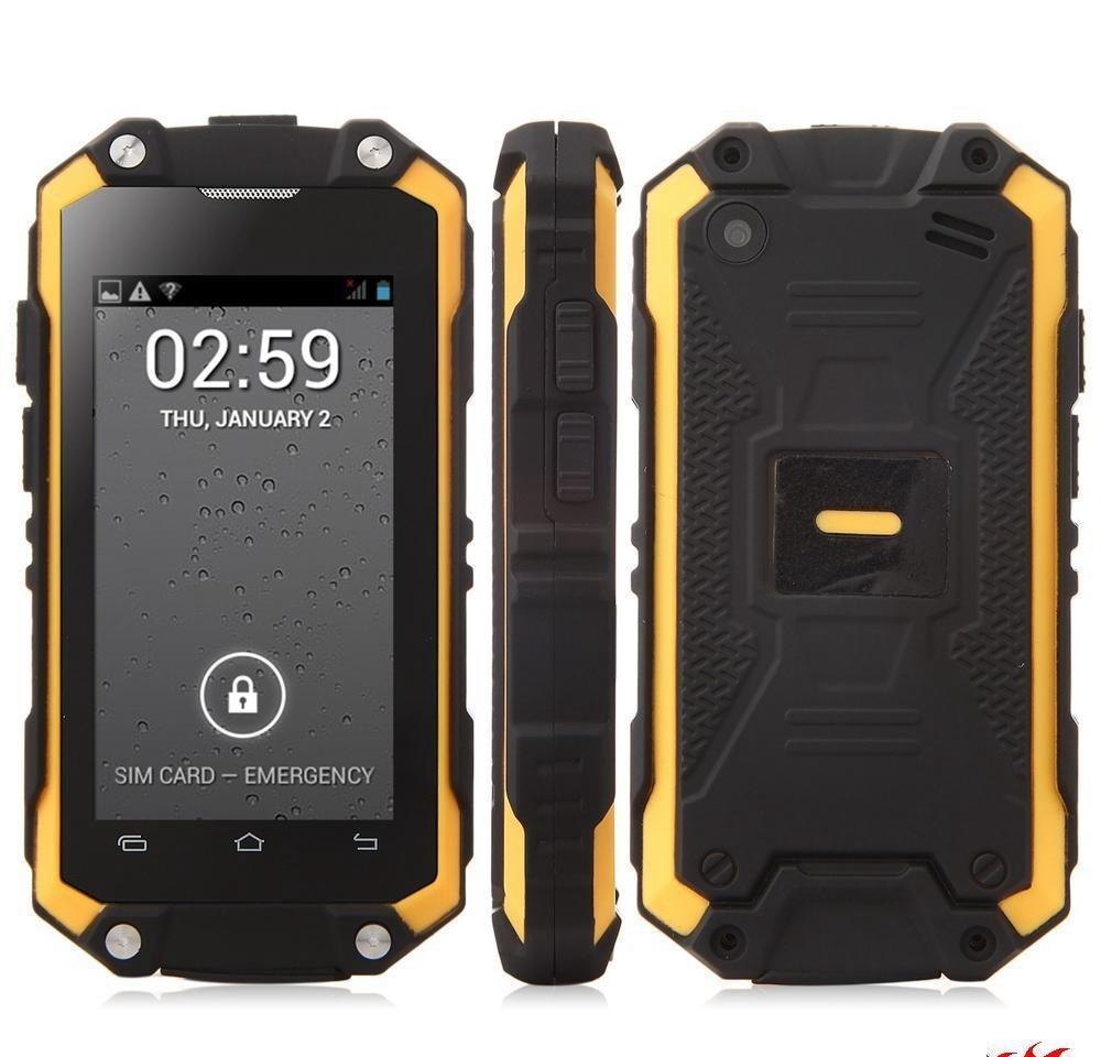XENO MINI J5 Smart Phone IP65 Waterproof 3G Smartphone MT6580 Quad Core 2 4 Inch Screen