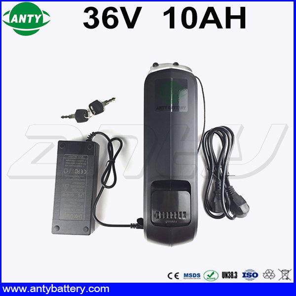 eBike Battery 36v 10Ah 350w with 2A Charger 15A BMS Lithium ion Battery 36v with USB Electric Bicycle Battery 36V Free Shipping free customs taxes and shipping e bike hailong battery akku ebike lithium ion battery pack 36v 10ah with charger and bms