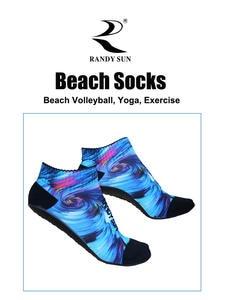 Beach-Socks Aqua Sun-Volleyball Yoga Jogging Water-Sports RANDY Sand Seamless Suitable