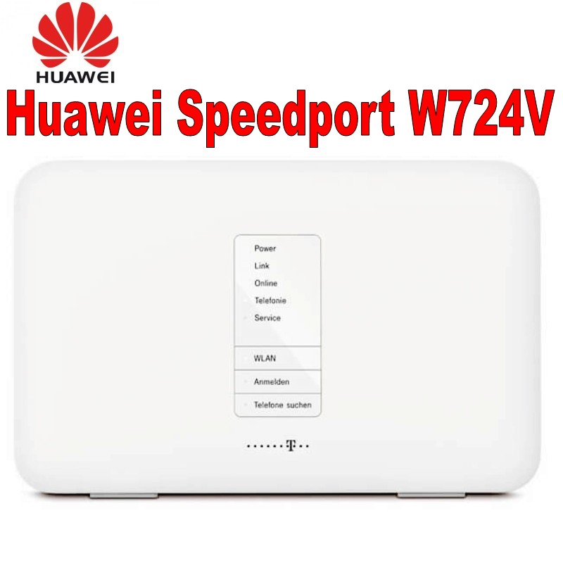Lot Of 100pcs Huawei Speedport W724V ADSL ADSL2+/VDSL2/DSL Modem/router SIP VoIP DLNA+ NAS 802.11b/g/n/ac Home Router