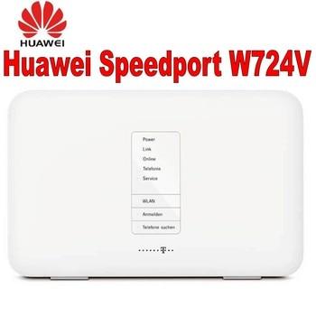 цена на Lot of 100pcs Huawei Speedport W724V ADSL ADSL2+/VDSL2/DSL modem/router SIP VoIP DLNA+ NAS 802.11b/g/n/ac Home router