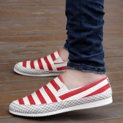 2018 Canvas shoes summer breathable beans shoes, men's casual linen cloth shoes, outdoor comfortable lightweight shoes 7