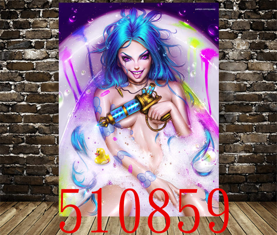 League of Legends Game Poster Anime Canvas Decorative Paintingcanvas Decorative Painting Wall Stickers Home Decoration Supplies 1