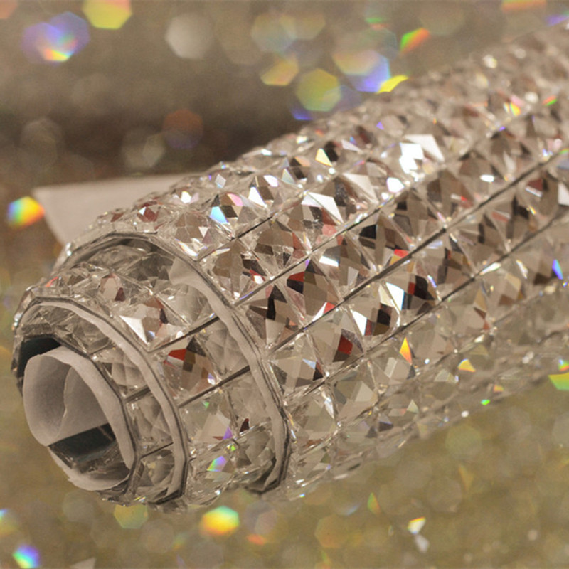Rhinestone Mesh Hotfix Motif 24*40cm,new Style Cellphone/bag/shoe Decoration,glass Beads Iron On Transfer Wedding Decoration