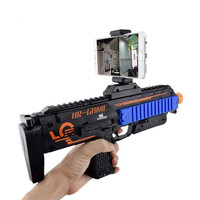 AR Game Gun VR Bluetooth with Cell Phone Stand Holder AR Toy Game Gun with 3D AR Games for iPhone Android Smart Phone toys