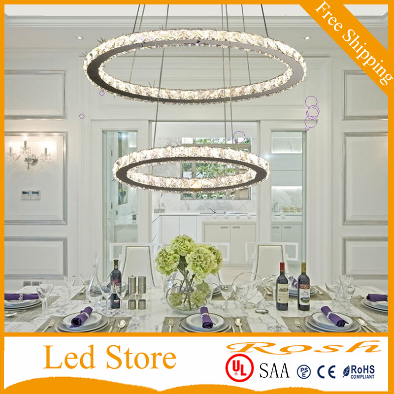 LED Crystal Chandelier Lamp For Living Room Bedroom Cristal Chandeliers Lighting Pendant Hanging Ceiling Fixtures Tri-tone light chandelier lighting crystal luxury modern chandeliers crystal bedroom light crystal chandelier lamp hanging room light lighting